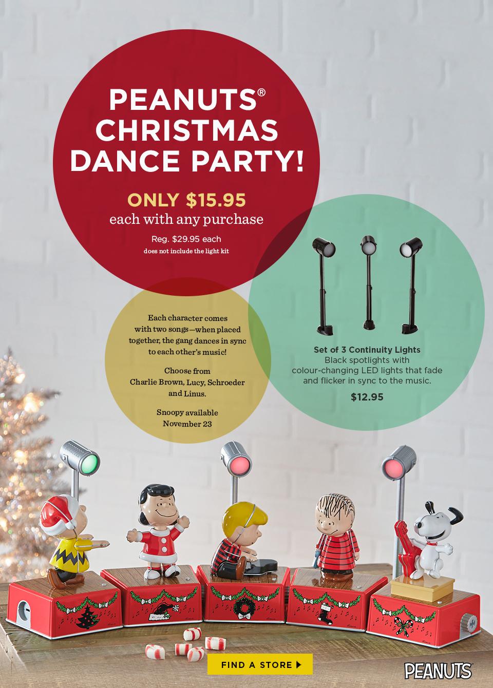 peanuts christmas dance party - Peanuts Christmas Dance