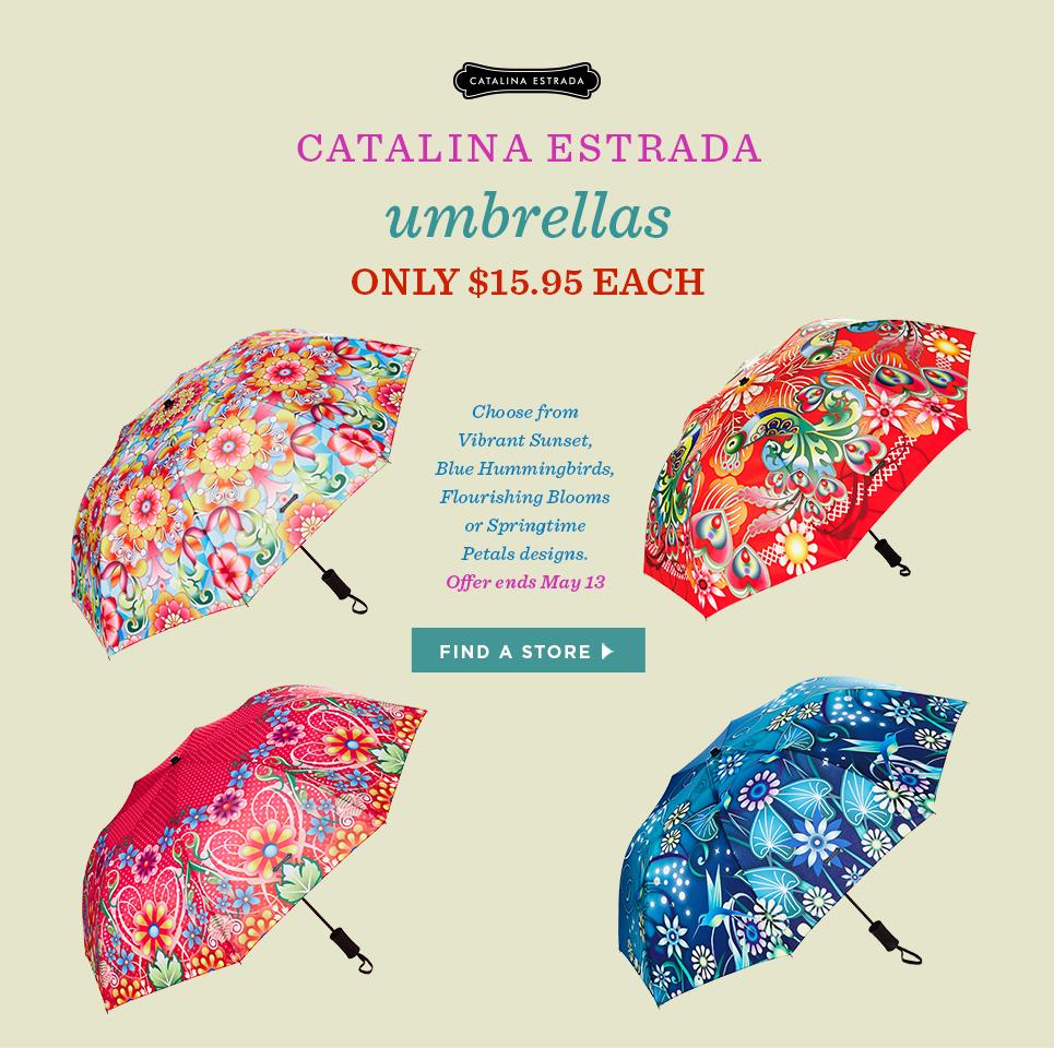 Catalina Estrada Umbrellas - Only $15.95 each